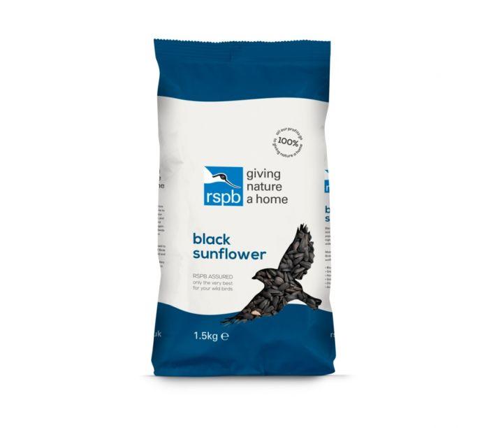 Rspb Black Sunflower 1.5Kg