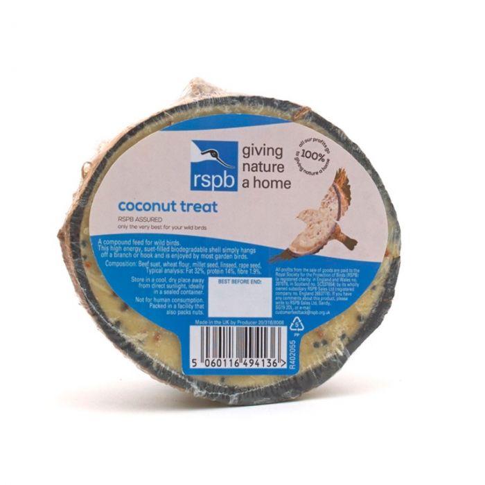 Rspb Coconut Treat 320G