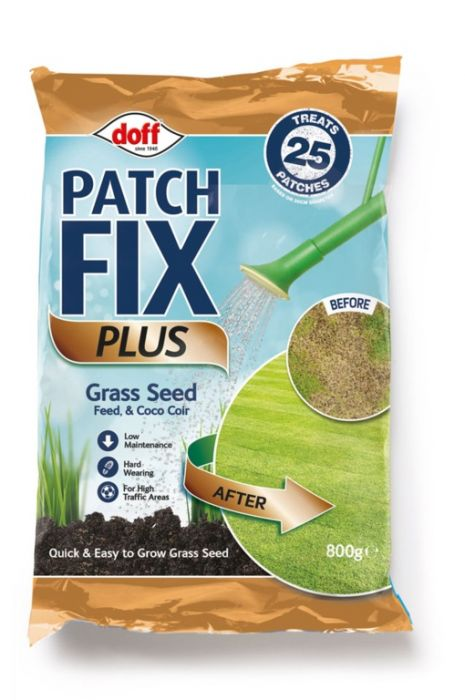 Doff Patch Fix Plus Grass Seed Feed & Coco Coir 800G