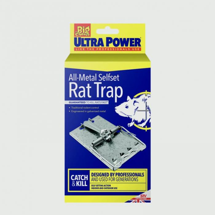 Ultra Power All Metal Self Set Rat Trap