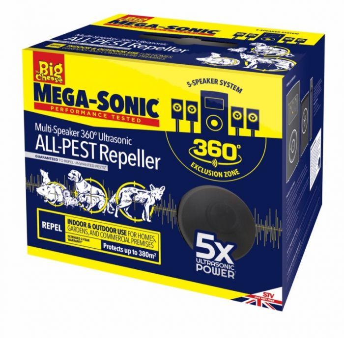 Ultra Power Mega Sonic All-Pest Repeller