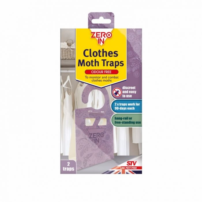 Zero In Clothes Moth Trap 2 Pack