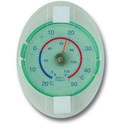 Brannan Dial Thermometer Window
