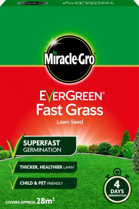 Miracle-Gro Fast Grass Seed 840Gm