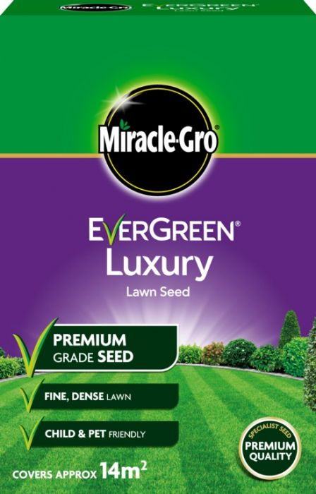Miracle-Gro Luxury Lawn Seed 420Gm
