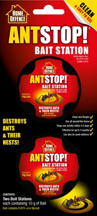 Home Defence Antstop Bait Station Twin Pack
