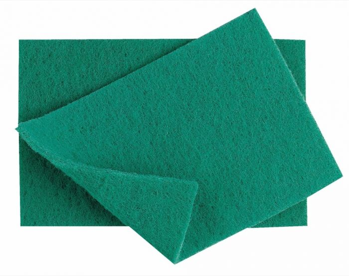 Industrial Green Scouring Pads Pack 10
