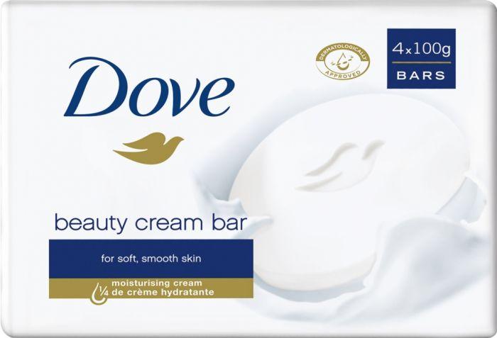 Dove Beauty Cream Bar 4 X 100G