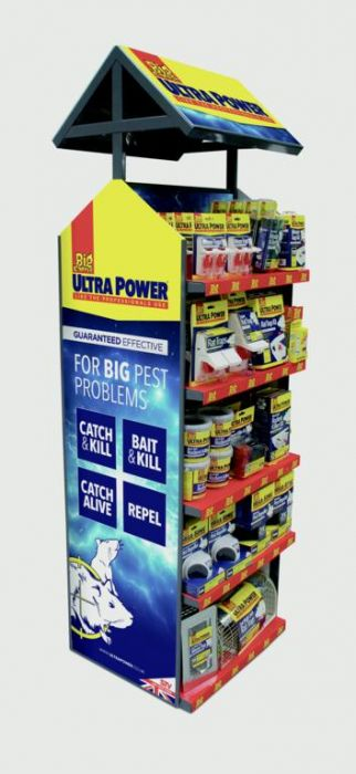 Ultra Power The Big Cheese Ultra Power Display Unit Double Sided