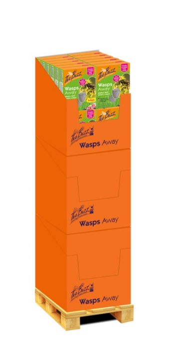 The Buzz Wasps Away Display Unit