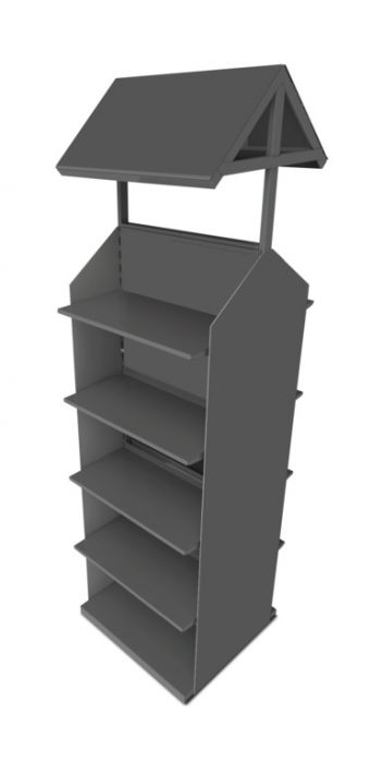Stv Double Sided Display Stand (No Stock)