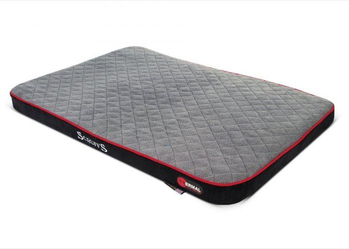 Scruffs Thermal Self Heating Dog Bed 82 X 58 X 5Cm
