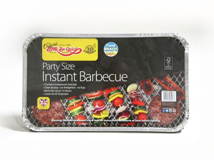 Rectella Bar-Be-Quick Instant Barbecue Party Size