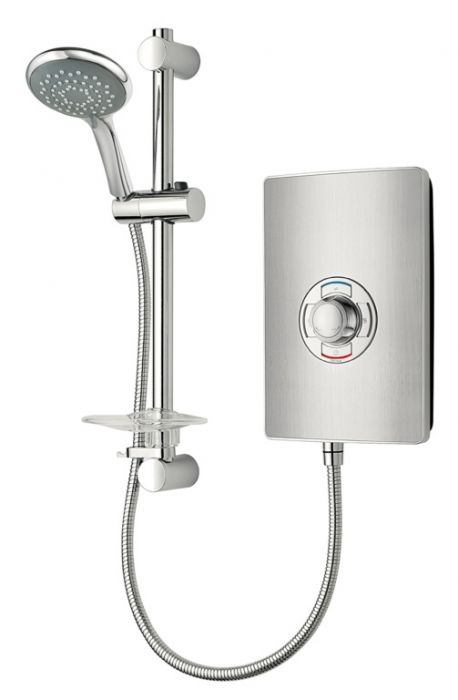 Triton Collection Ii 9.5Kw Electric Shower Brushed Steel