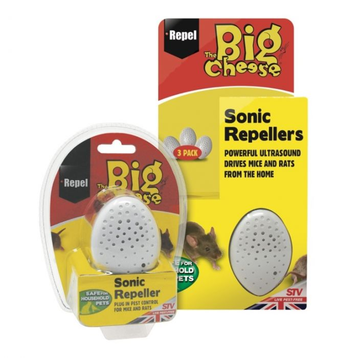The Big Cheese Sonic Repellers Pack 3