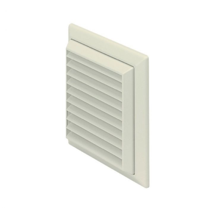 Louvered Grille Outlet White