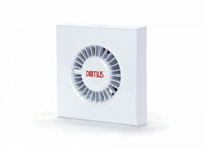 Domus Ventilation Domus Sdf Axial Timer And Humidistat Fan White 100Mm