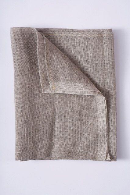 Standard Linen Scrim Hemmed 36 X 36
