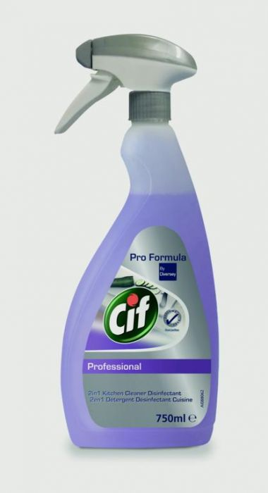 Cif Professional 2In1 Cleaner Disinfectant 750Ml
