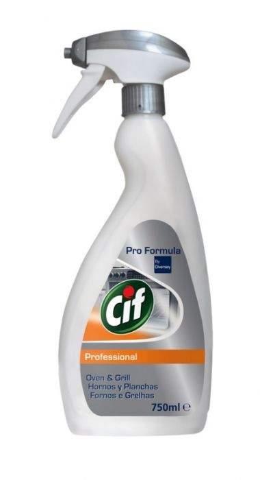 Cif Professional Oven & Grill Cleaner 750Ml