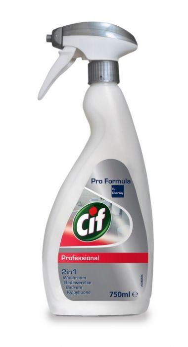 Cif Professional Washroom Cleaner 2In1 750Ml