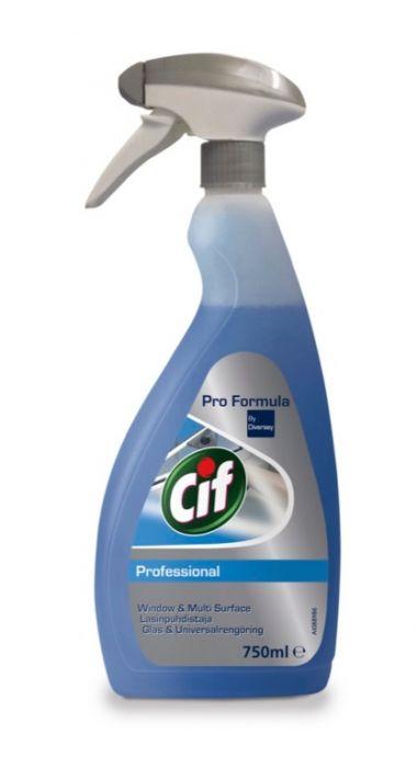 Cif Professional Window Multi Surface 750Ml