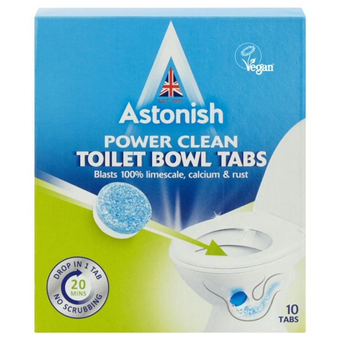 Astonish Toilet Cleaner Tablets Pack 10