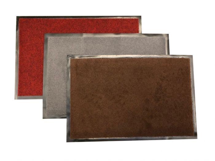 Lilanch Rubber Polypropylene Doormat 60 X 40Cm - Assorted Colours