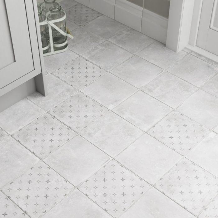 Johnson Savoy Floor Tile 1.02M2 Grey