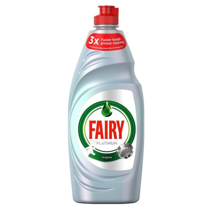 Fairy Platinum Washing Up Liquid Original 625Ml