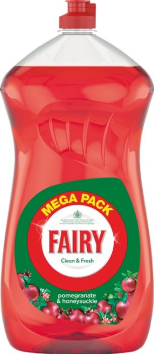 Fairy Washing Up Liquid Pomegranate 1410Ml