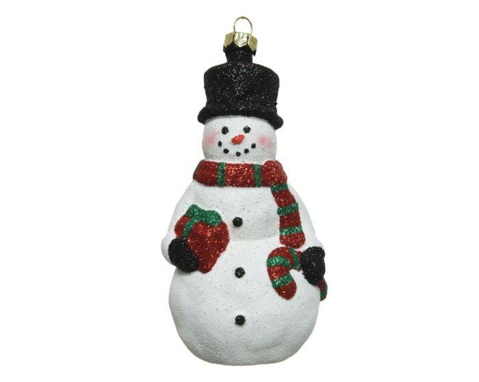 Shatterproof Snowman With Hanger