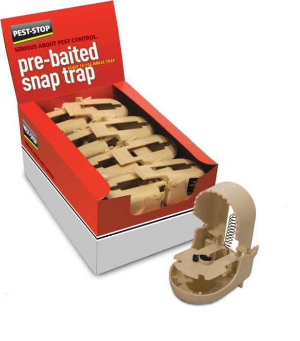 Pre Baited Snap Trap