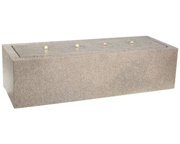 Kaemingk Rectangular Fountain Brown - 55 X 155 X 40Cm
