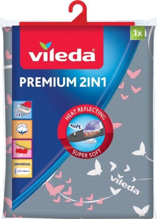 Vileda Premium 2 In 1 Ironing Board Cover