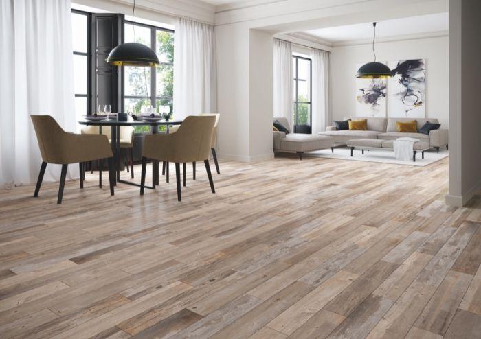 Verona Ashwood Aged Oak Glazed Wall Floor Tile 15 X 90 1.215M2
