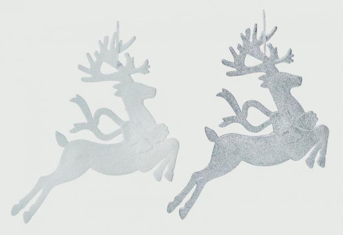 Leaping Reindeer 28 X 21