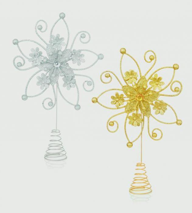 Flower Star Tree Topper