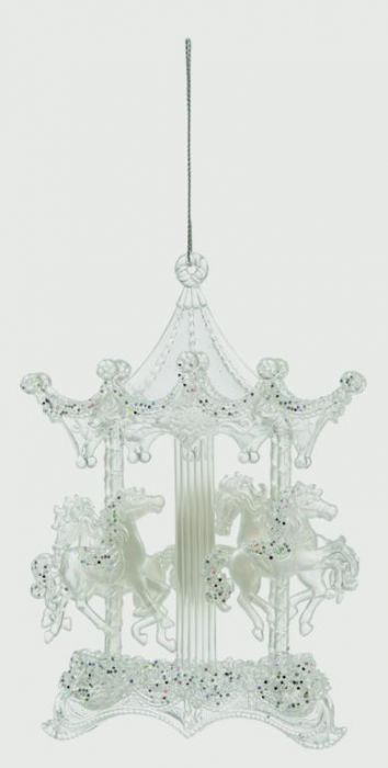 Clear Frosted Carousel