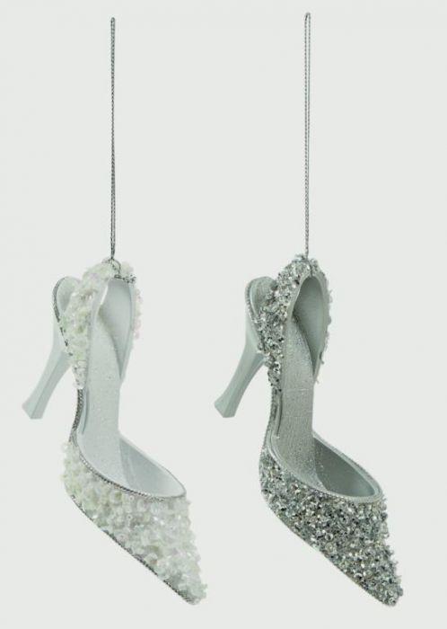 13Cm Glitter Shoe Trim
