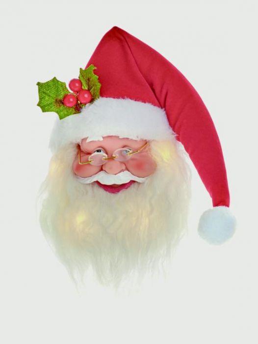 Hanging Santa Head