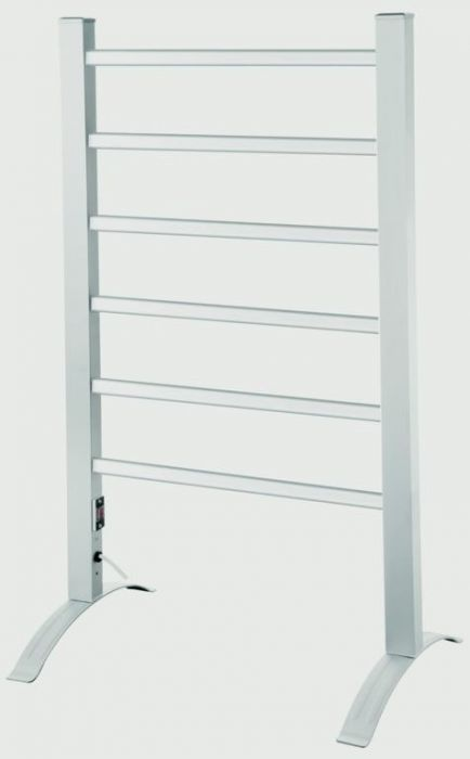 Kingavon Portable Aluminium Heated Towel Rail 100W