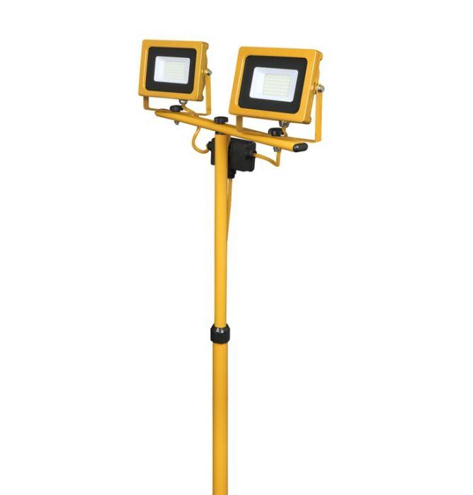 Powermaster Twin Tripod Worklight Ip65 3200Lm 2 X 20W