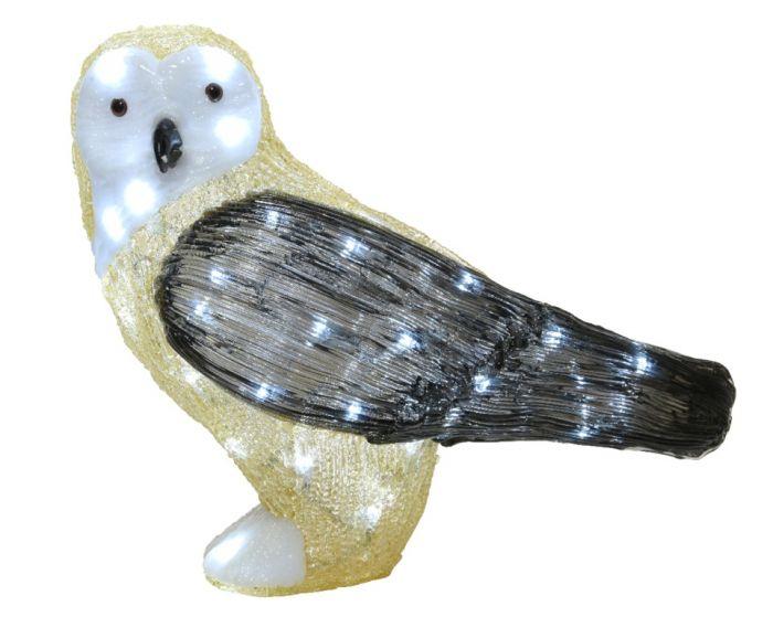 Led Acrylic Outdoor Owl