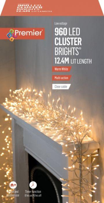 960 Multi Action Led Cluster Lights With Timer
