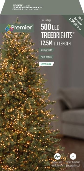 500 Multi Action Led Treebrights With Timer