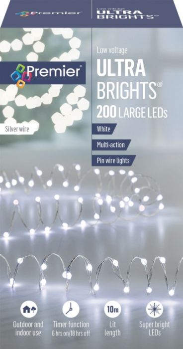 200 Led Multi Action Ultrabrights With Timer