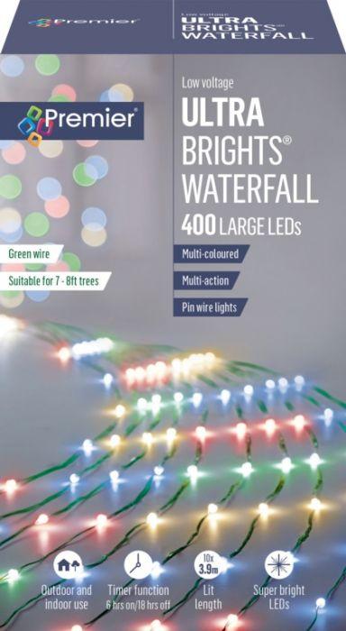400 Led Ultrabrights Waterfall