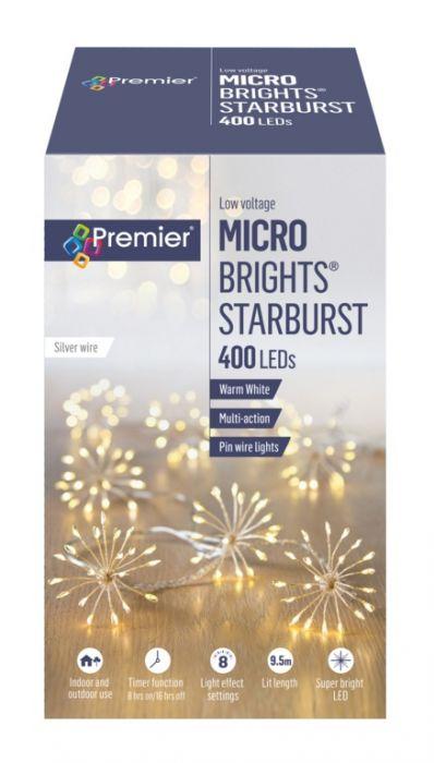 400 Led Multi Action Starburst Stringlights