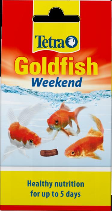 Tetra Goldfish Weekend Food (10 Sticks)